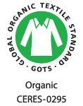 Algodón orgánico GOTS CERES 0295