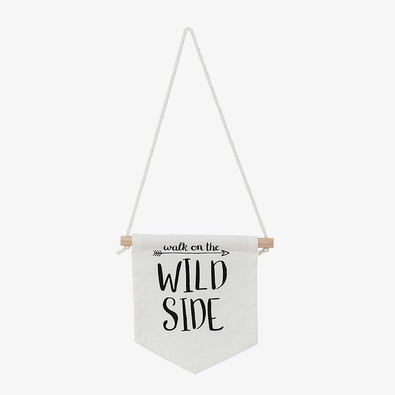 Banderola de tela Wild Side