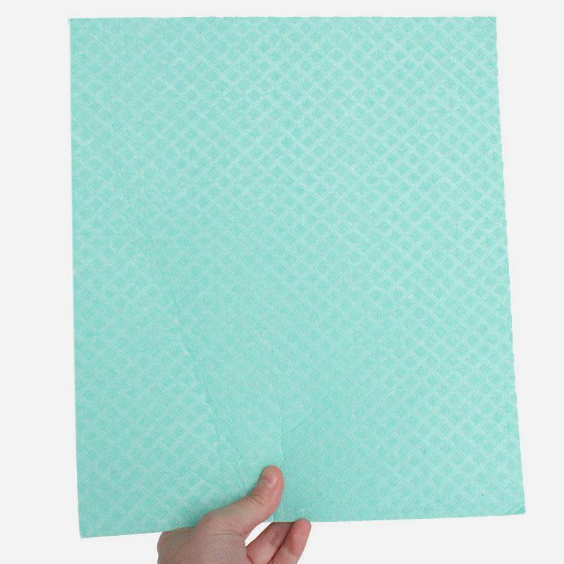 bayeta de algodón y celulosa 26x31 cm mint