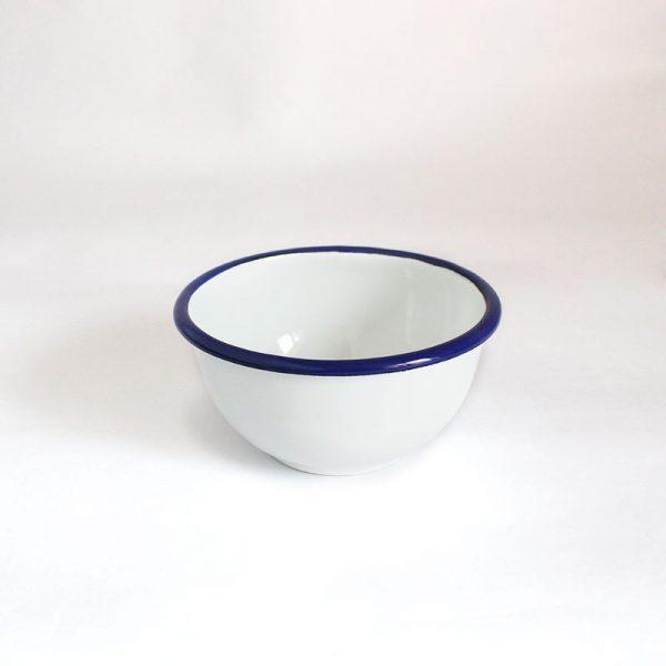 bol de acero esmaltado Azul