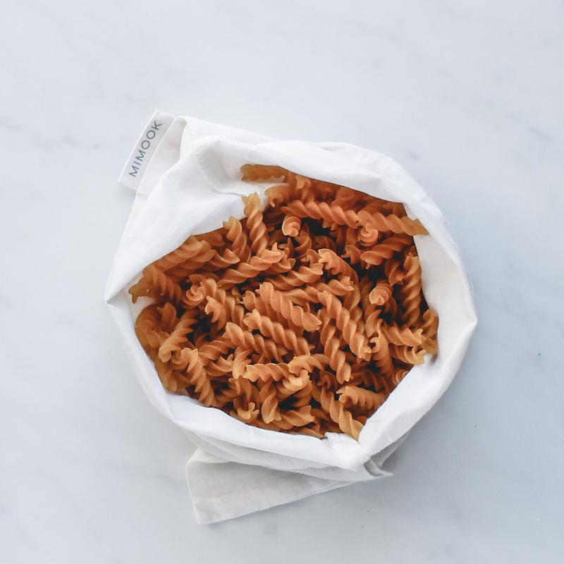 bolsa para granel de algodón fino mediana