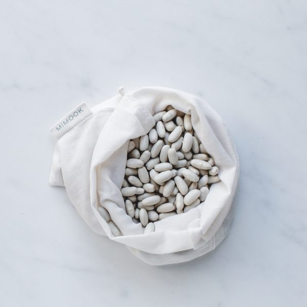 bolsa para granel de algodón fino pequeña