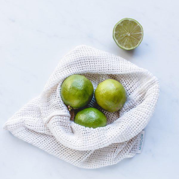 bolsa para granel de malla mediana