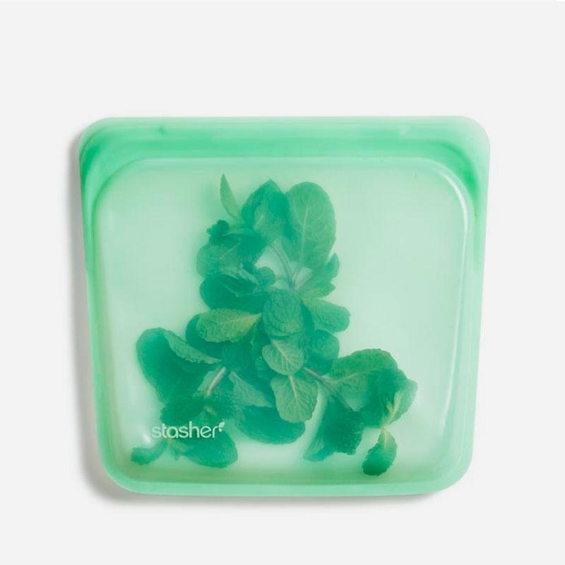 bolsa de silicona Stasher Mint
