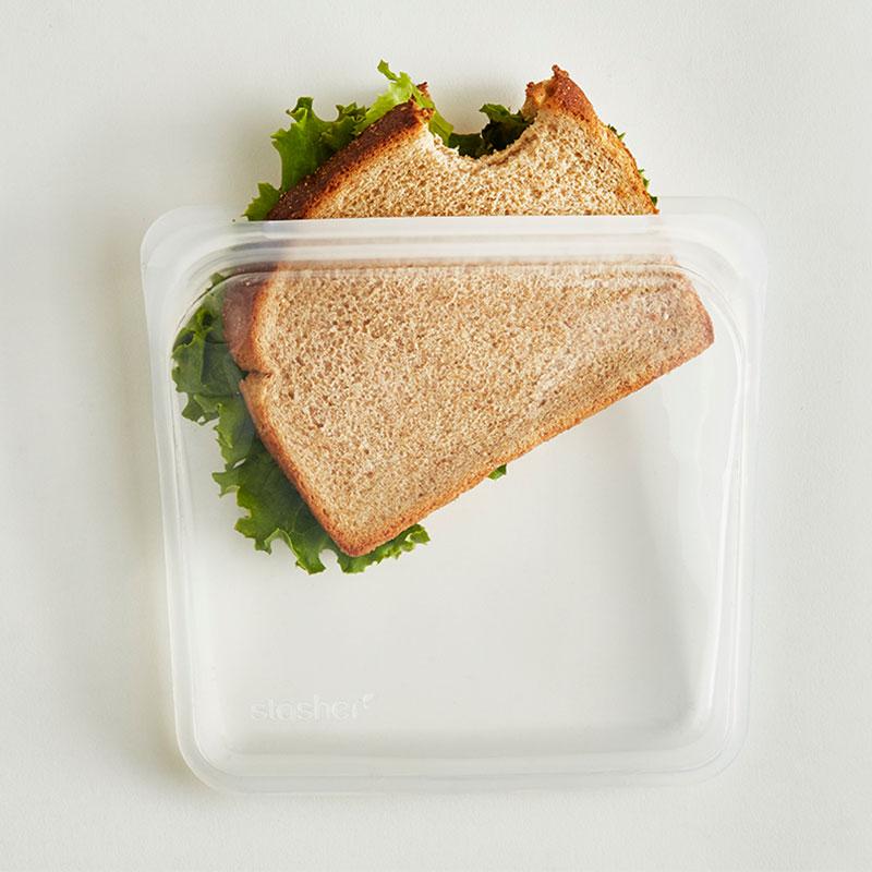 bolsa de silicona Stasher sandwich