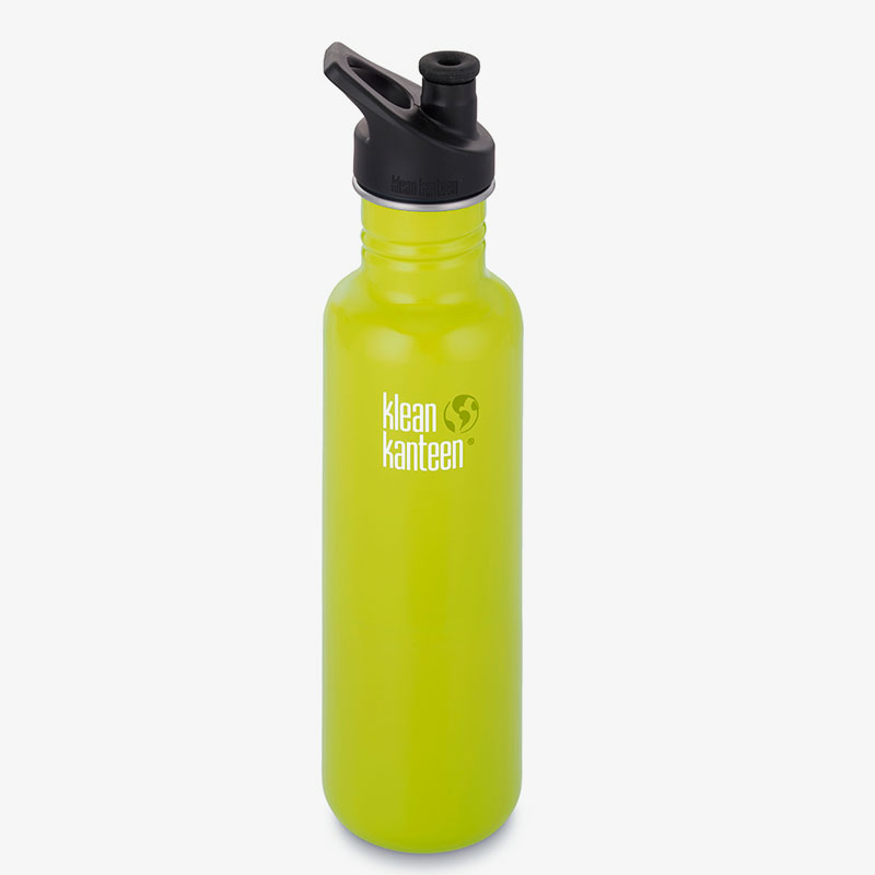botella acero inoxidable grande classic sport 800 ml lime pop