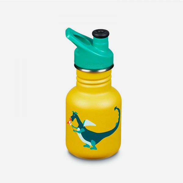 botella de acero inoxidable kid kanteen sport dragon snack