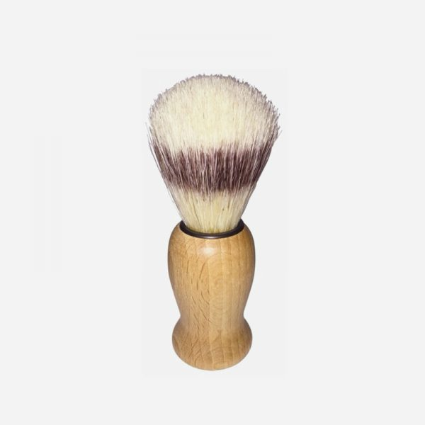 brocha de afeitar de madera de haya