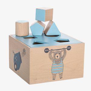caja para encajar bloques
