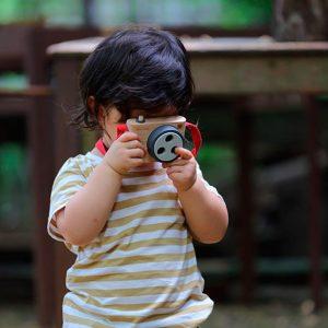 cámara a color Plantoys
