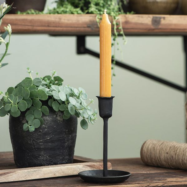 candelabro de mesa metálico handmade