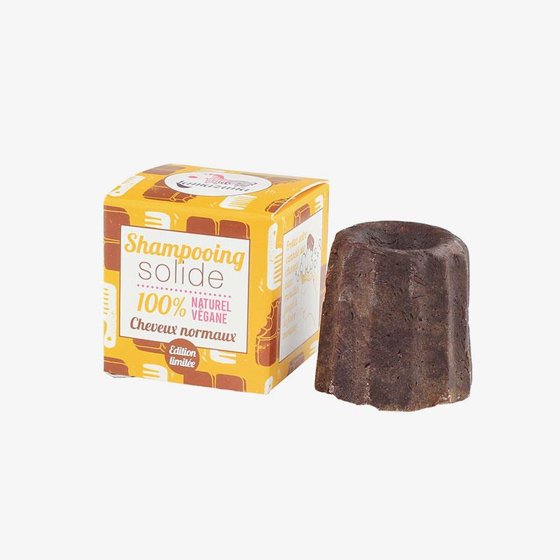 champú sólido de chocolate Lamazuna