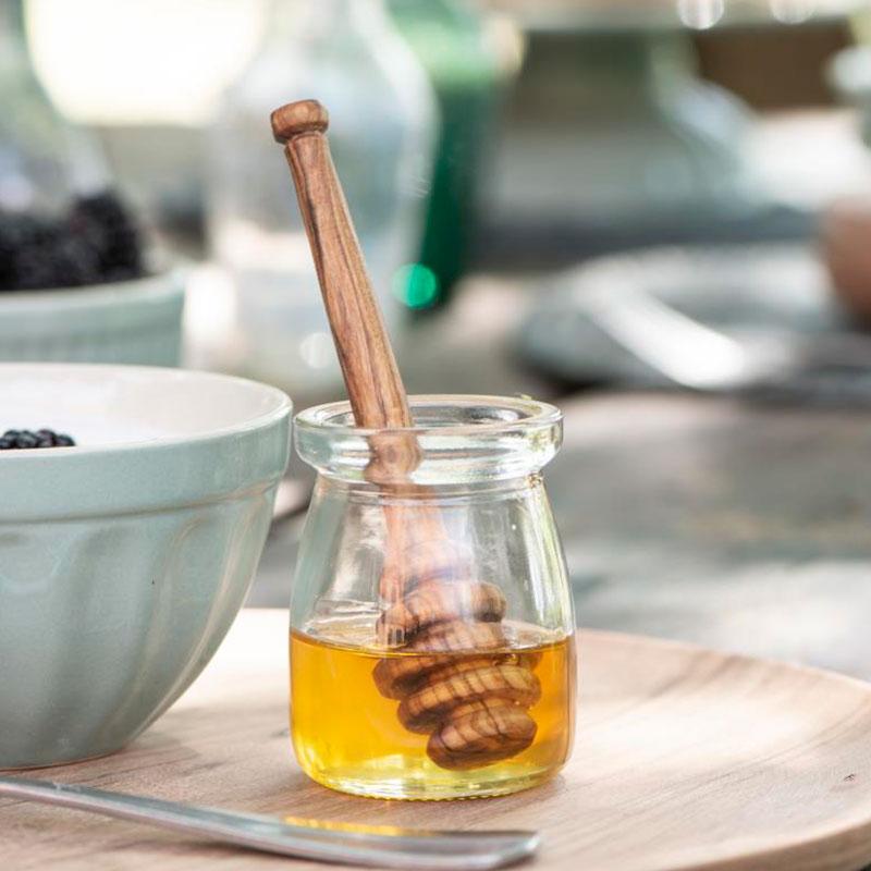 cuchara para miel de olivo
