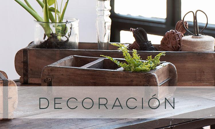 decoración sostenible
