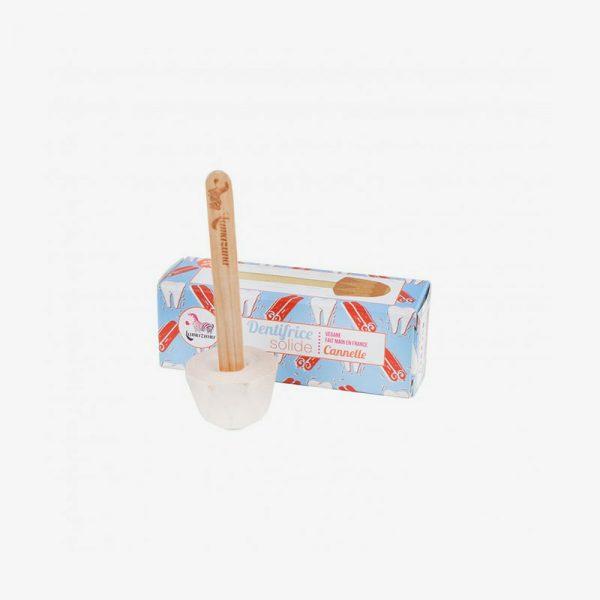dentífrico sólido de canela de Lamazuna