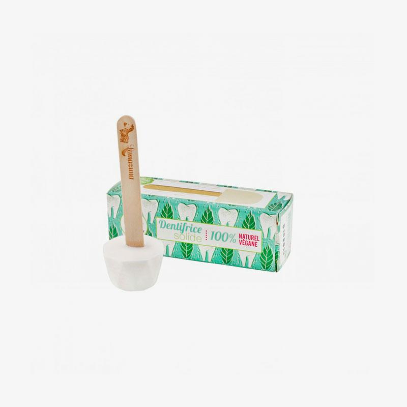 dentífrico sólido de menta de Lamazuna