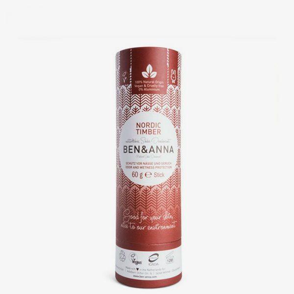 desodorante sólido en barra Nordic Timber