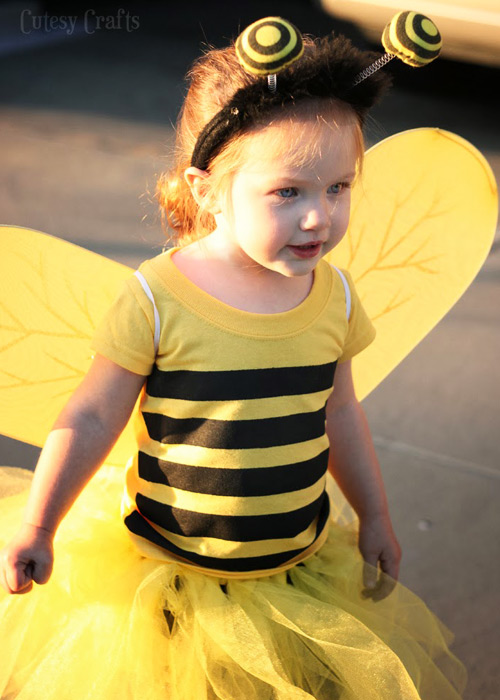disfraces DIY abeja