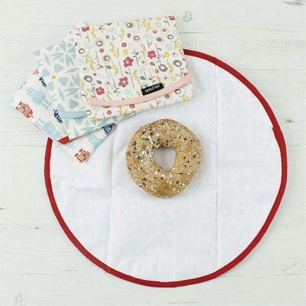 envoltorio alimentos con donut