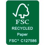 FSC papel reciclado
