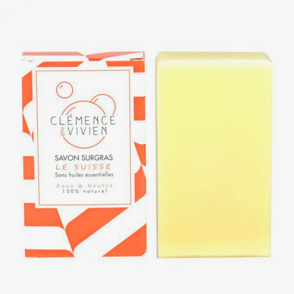 jabón sólido para piel sensible
