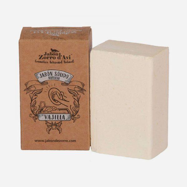 jabón sólido para vajillas zorro avi