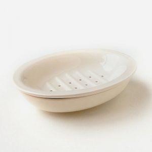 jabonera de cerámica de 2 piezas