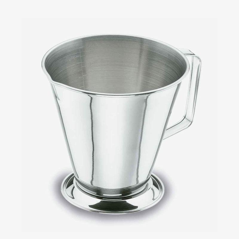 jarra medidora de acero inoxidable de 1 litro