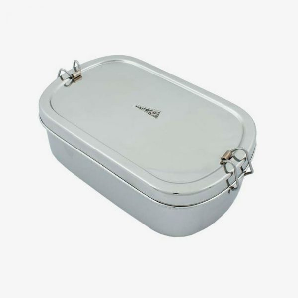 lunch box de acero inoxidable extra grande