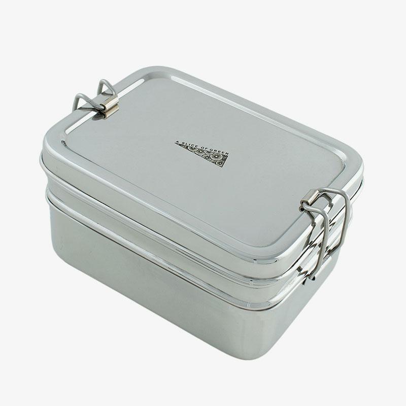 lunch box rectangular doble