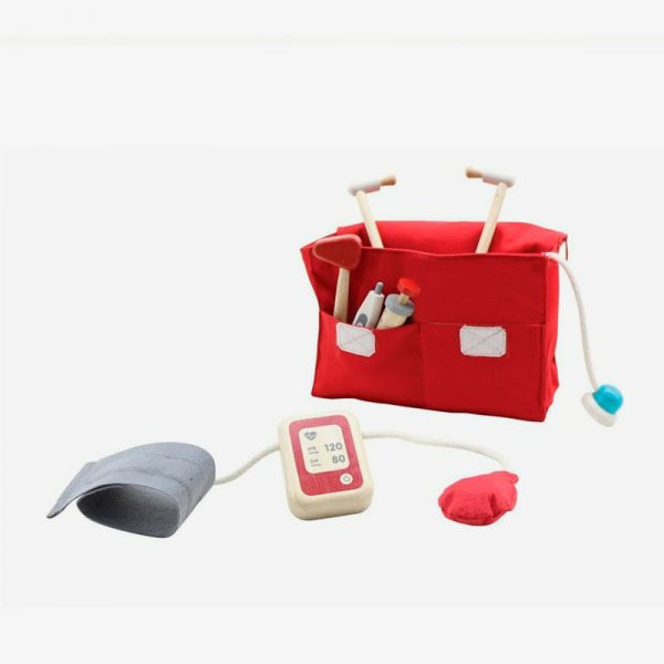 maletin de doctor set de Plantoys