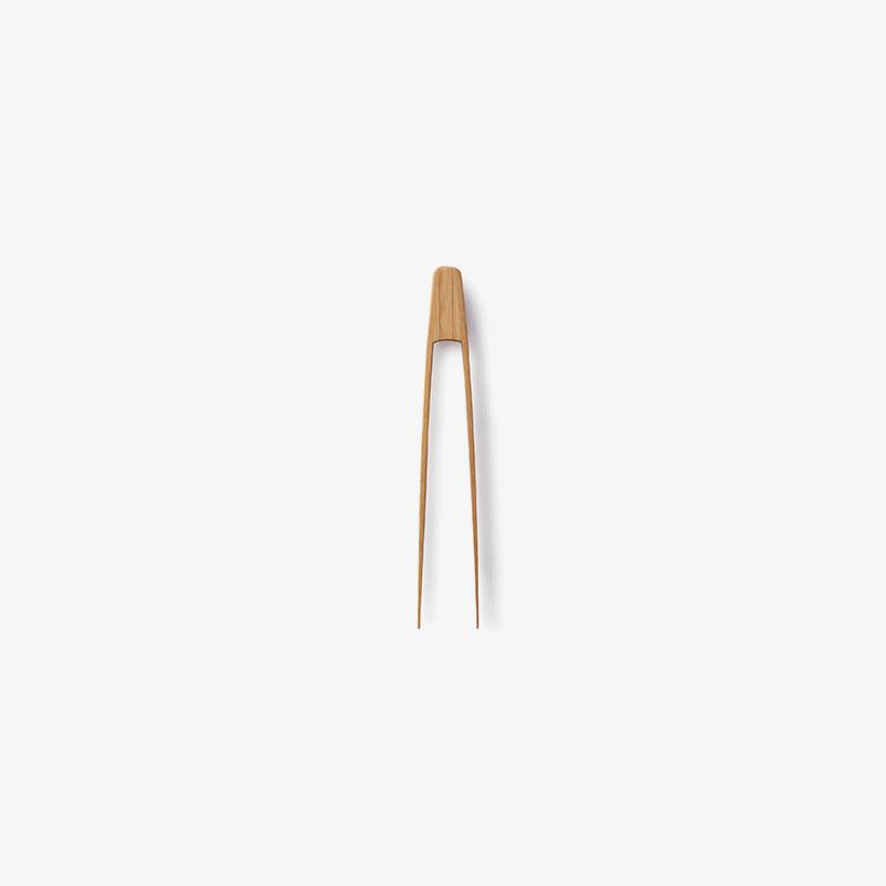 pinzas mini de bambú