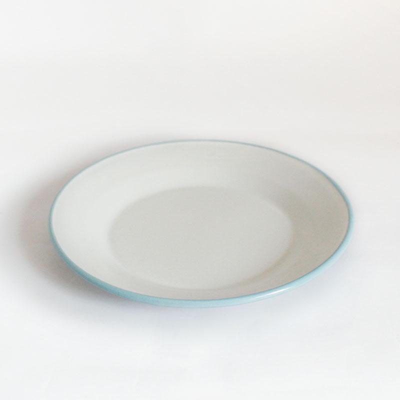 plato grande de acero esmaltado Versalles