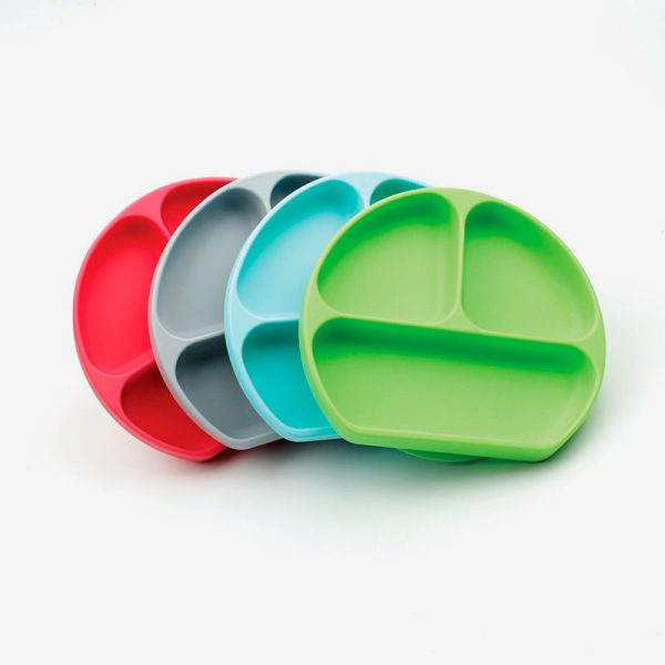 Plato de silicona con ventosa Bumkins