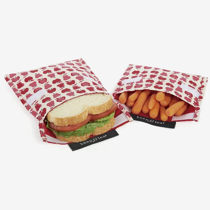 snack bag con comida