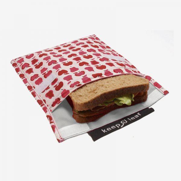 snack bag con sandwich