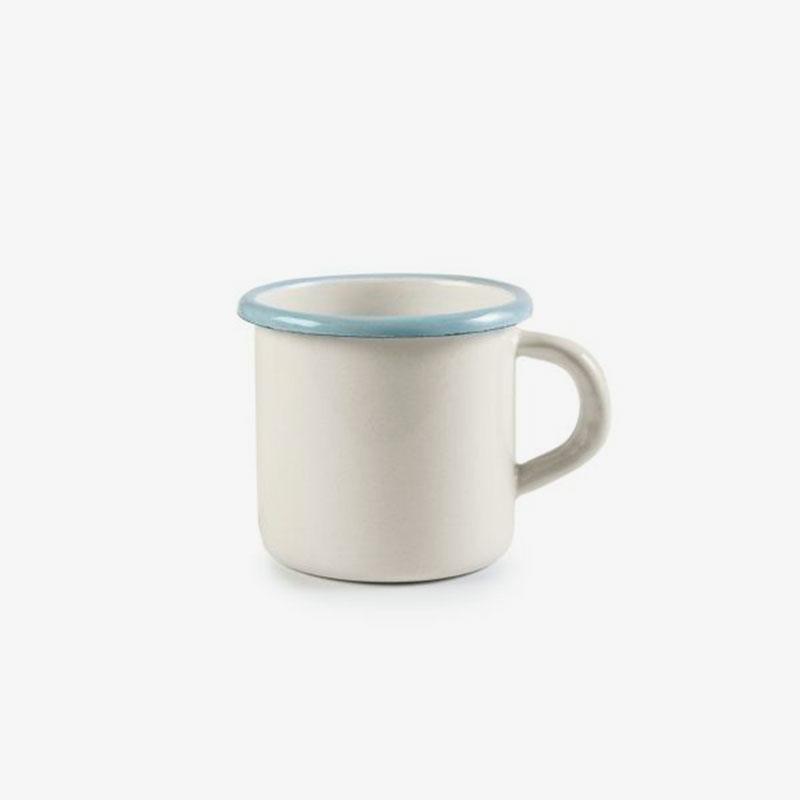taza de acero esmaltado Versalles