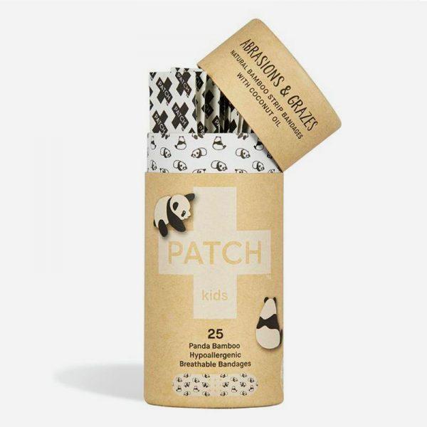 tiritas biodegradable de bambú y aceite de coco