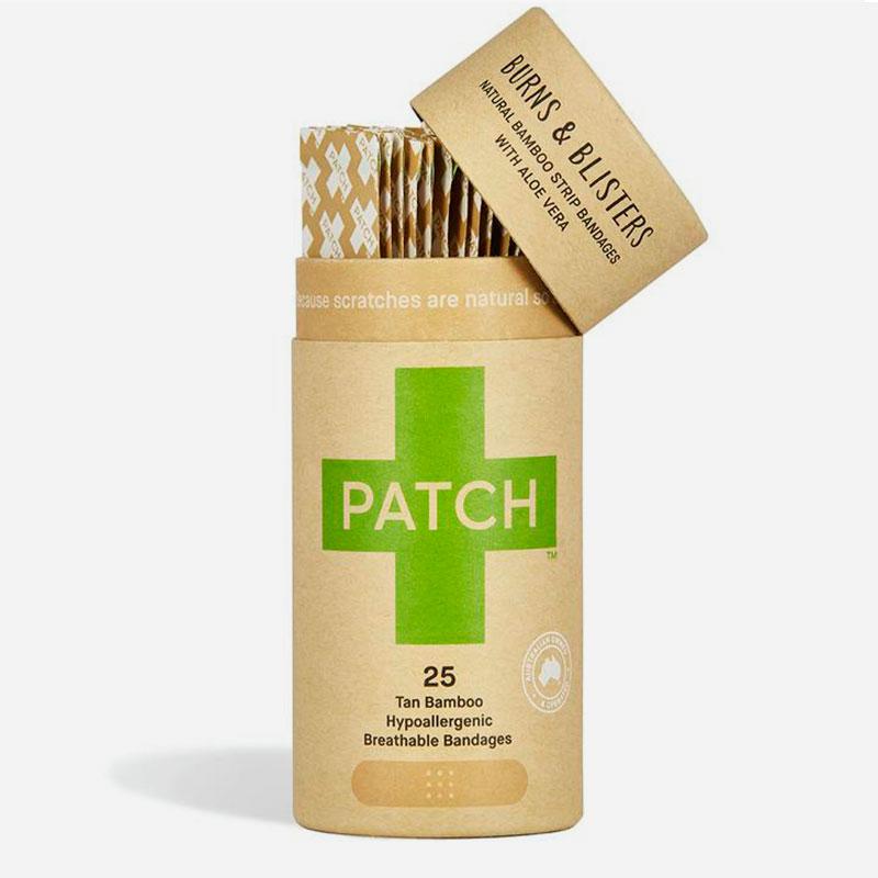 tiritas biodegradable de bambú y aloe vera