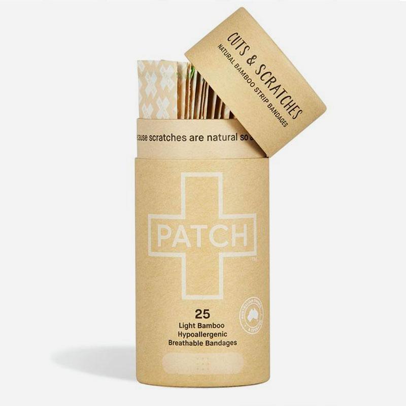 tiritas biodegradable de bambú Natural