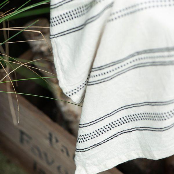 trapo de cocina de algodón rayas