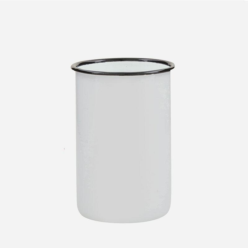vaso de acero esmaltado