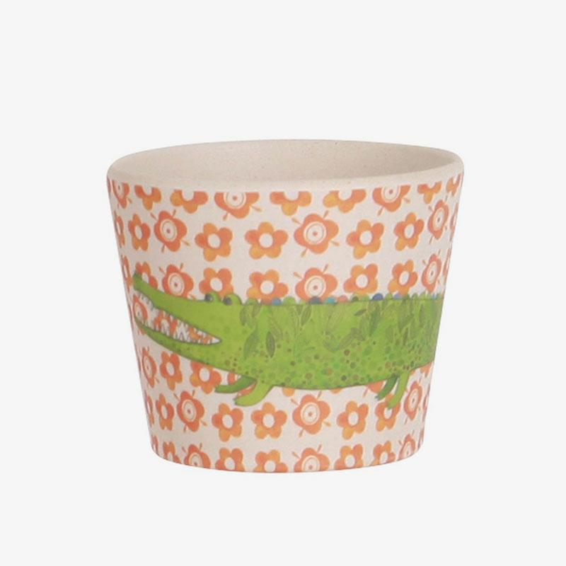 vaso de bambú safari