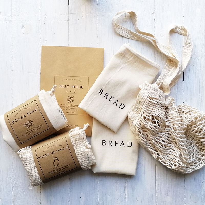 pack zero waste cotton bags